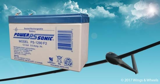 Power Sonic PS-1290 Battery