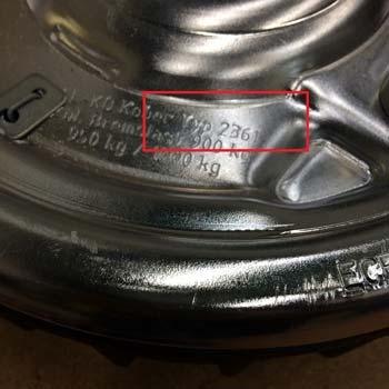 COBRA Brake Shoe ID 2361