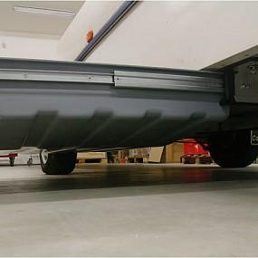 Telescope rails