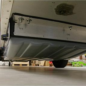Sealed frame from aluminium profiles
