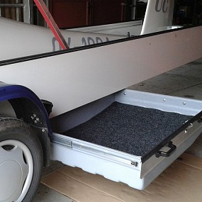 Drawer on 2012 Cobra trailer