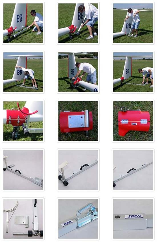 IMI Towing Bar Heavy Gliders