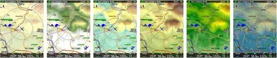 LXNAV Terrain Schemes