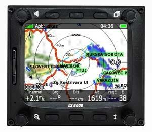 LXNAV LX8000 Rain Radar WiFi NOTAMs