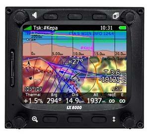 LXNAV LX8000 Waypoint and Task Mode