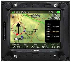 LXNAV LX8000 Wind