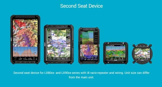 LXNAV LX8000 Second Seat