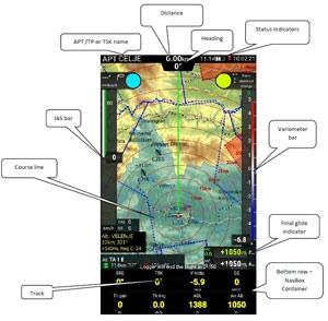 LX Navigation Zeus Main Navigation Page
