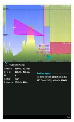 LX Navigation Zeus Second Nav Page