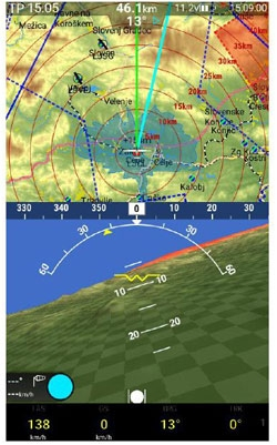 LX Navigation Zeus Third Nav Page