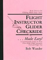 Book 3:Flight instructor glider checkride