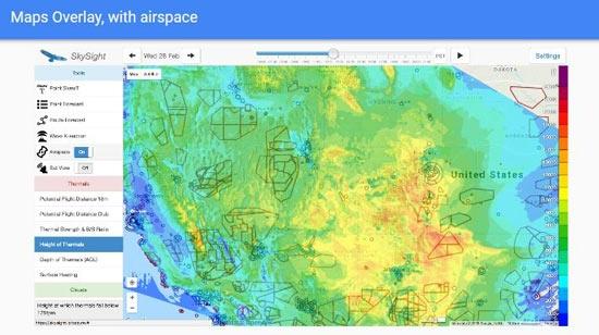 SkySight Maps Overlay