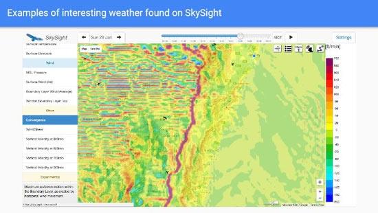 SkySight Strange Weather Example