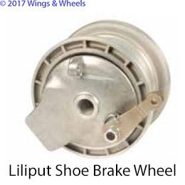 TOST 4 Inch Liliput Shoe Brake Wheel