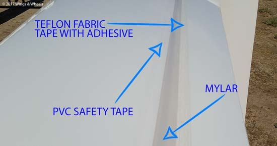 Teflon Fabric Tape With Adhesive