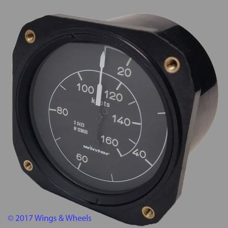 Winter Instruments Airspeed Indicator